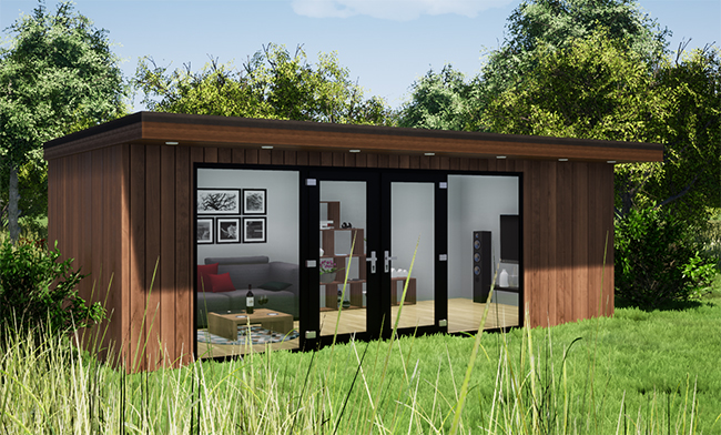 Garden Office Design - Ultimate Finishes