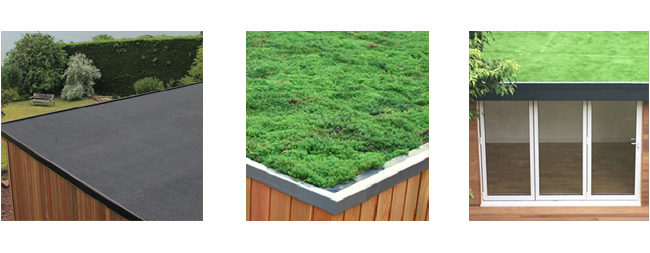 Roofing - GRP, EPDM, and Sedum - Ultimate Finishes